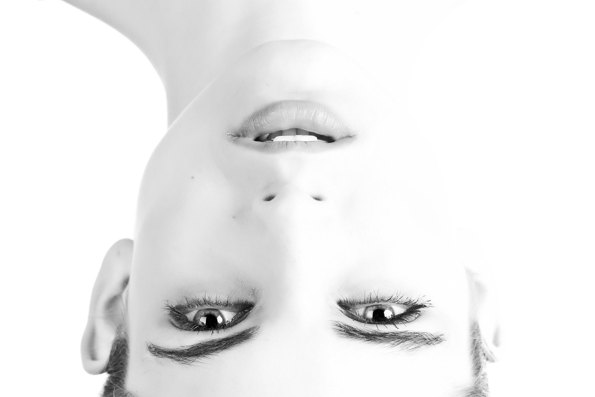 Upside-down Faces